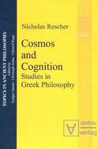 Book cover, Cosmos and Cognition