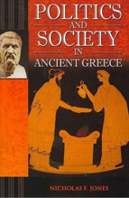 Book cover, Politics and Society in Ancient Greece