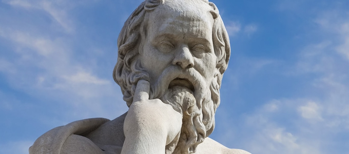 Plato, one of the greatest ancient greek philosophers