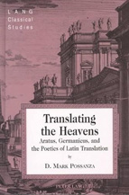 Book cover, Translating the Heavens